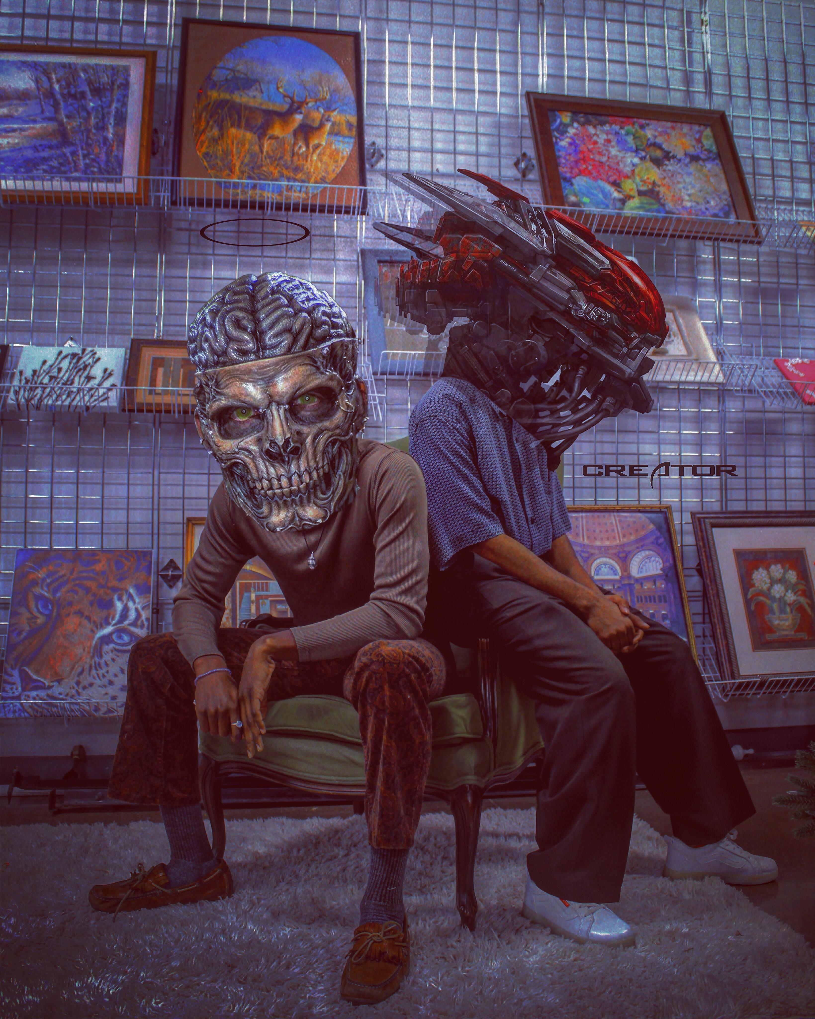 B93C4FED 3E96 4706 B782 FFA3E30FB59D1 - The Nigerian Anonymous Digital Artist whose Work Will Make You Shiver!