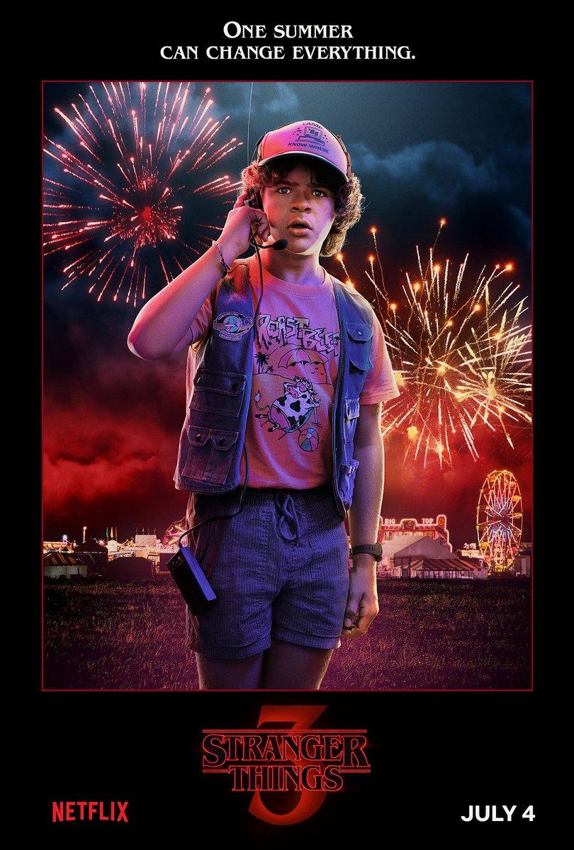 D7B91eAWsAEhnO9 - Stranger Things Season 3:New Character Posters and Sneak Peak.