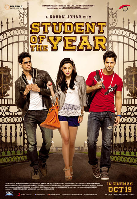 soty1 - ''Student of the Year 2'' Receives Horrible Reviews, Debuts 1.6 Million Naira Box Office.
