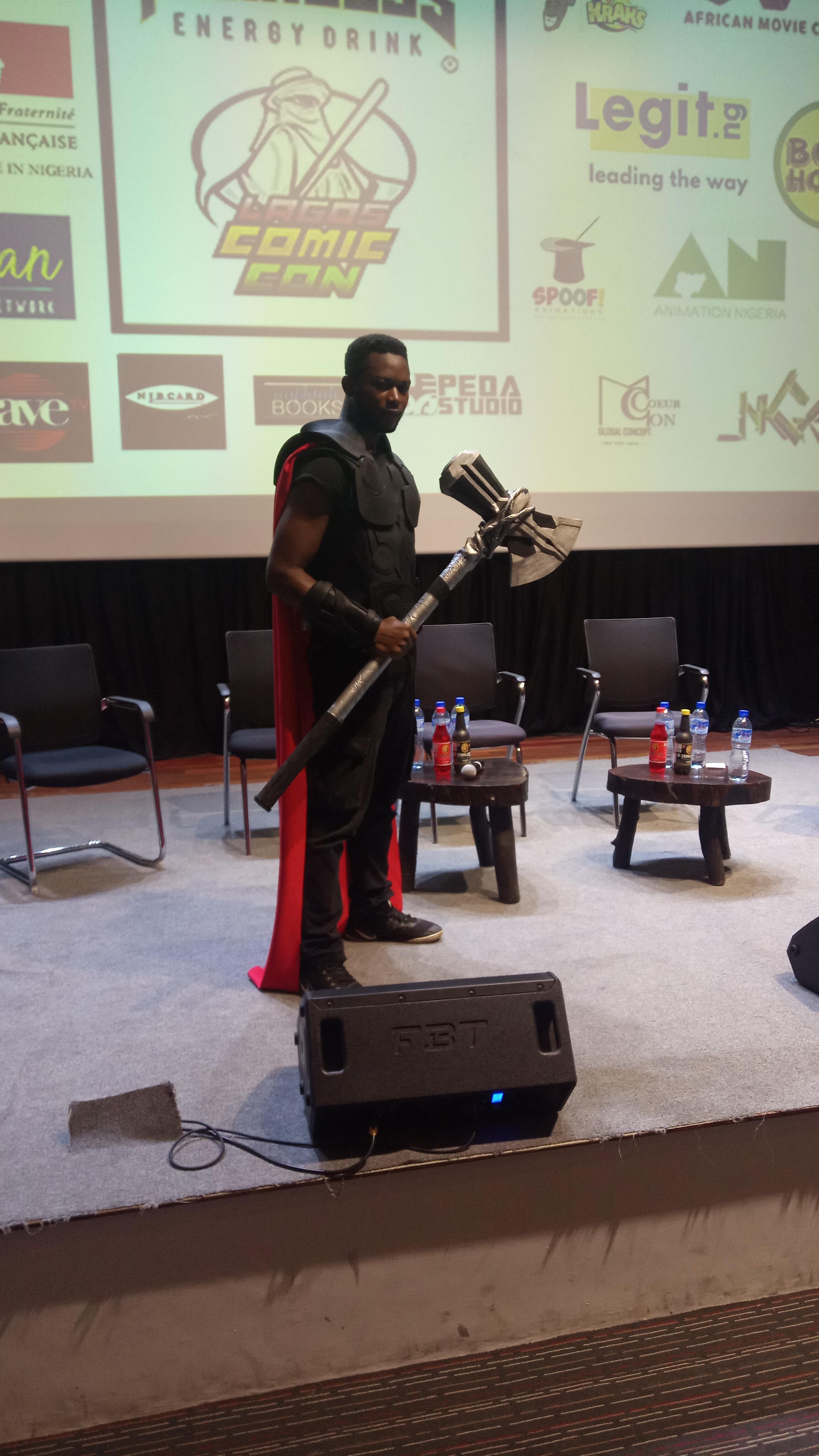 IMG 20190920 172437 7 - What We Saw at Lagos Comic Con 2019: Malika, Ratnik, Hero Corp & Joker