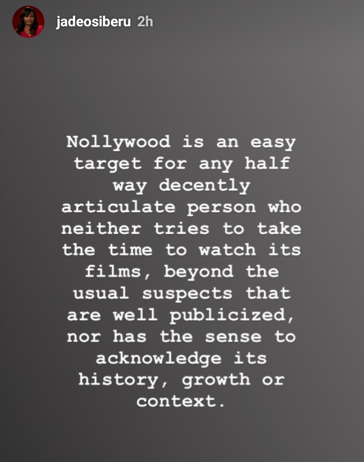 Screenshot 20190925 143121 e1569590922724 - Nollywood TweetStorm: What You Missed, Details Breakdown and Key Takeaways!