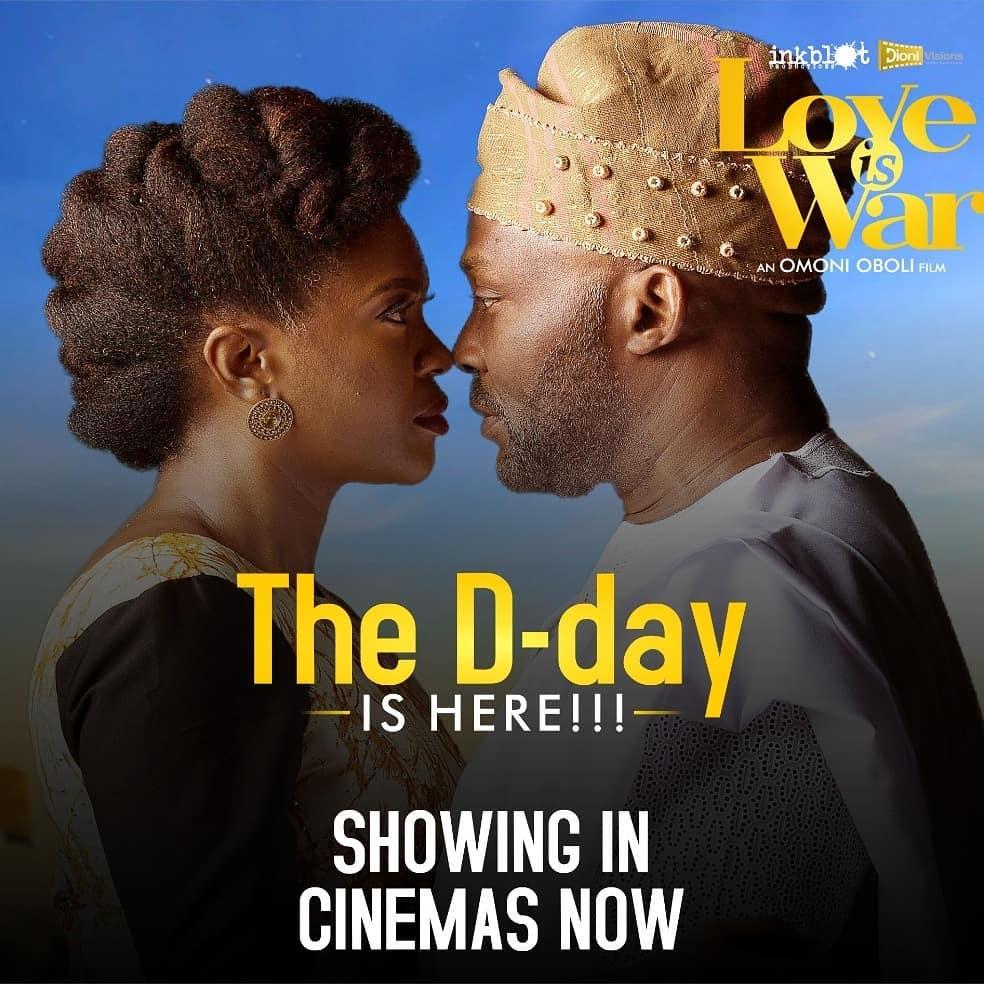 70185267 2506628476050205 1046280969308842375 n - Omoni Oboli's Love is War Hits N7 Million Weekend Debut + Top 5 Box Office Films