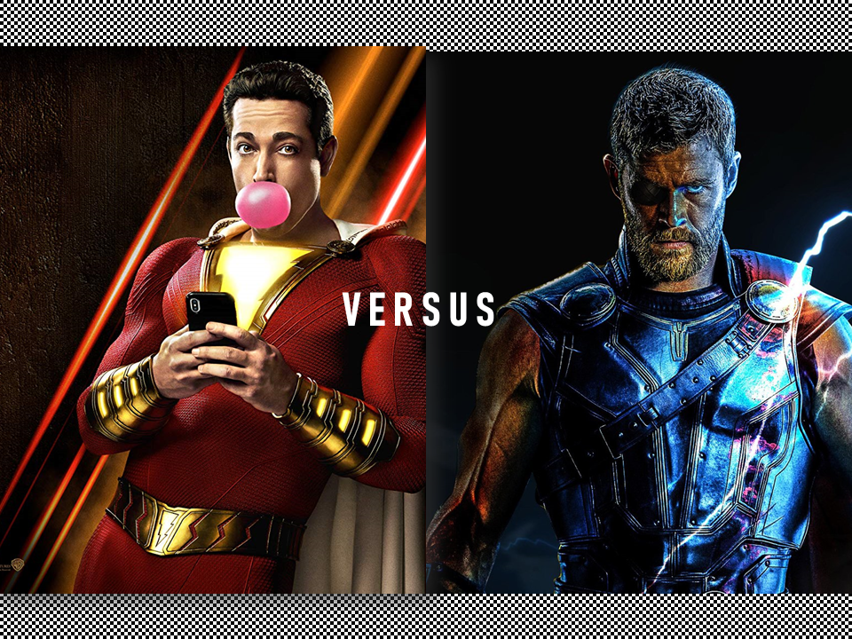 Comedy Creator Autosaved - THOR vs SHAZAM is Trending! Who Wins This Fight?
