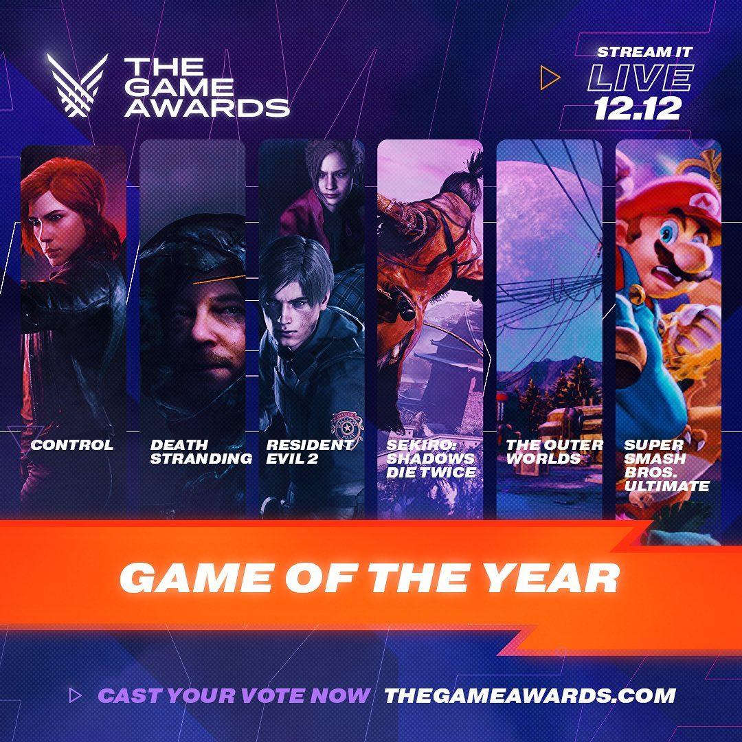 72842637 119812972799355 1459474597319971847 n - Game Awards 2019: Death Stranding Gets Highest Nods, See Full Nominees List
