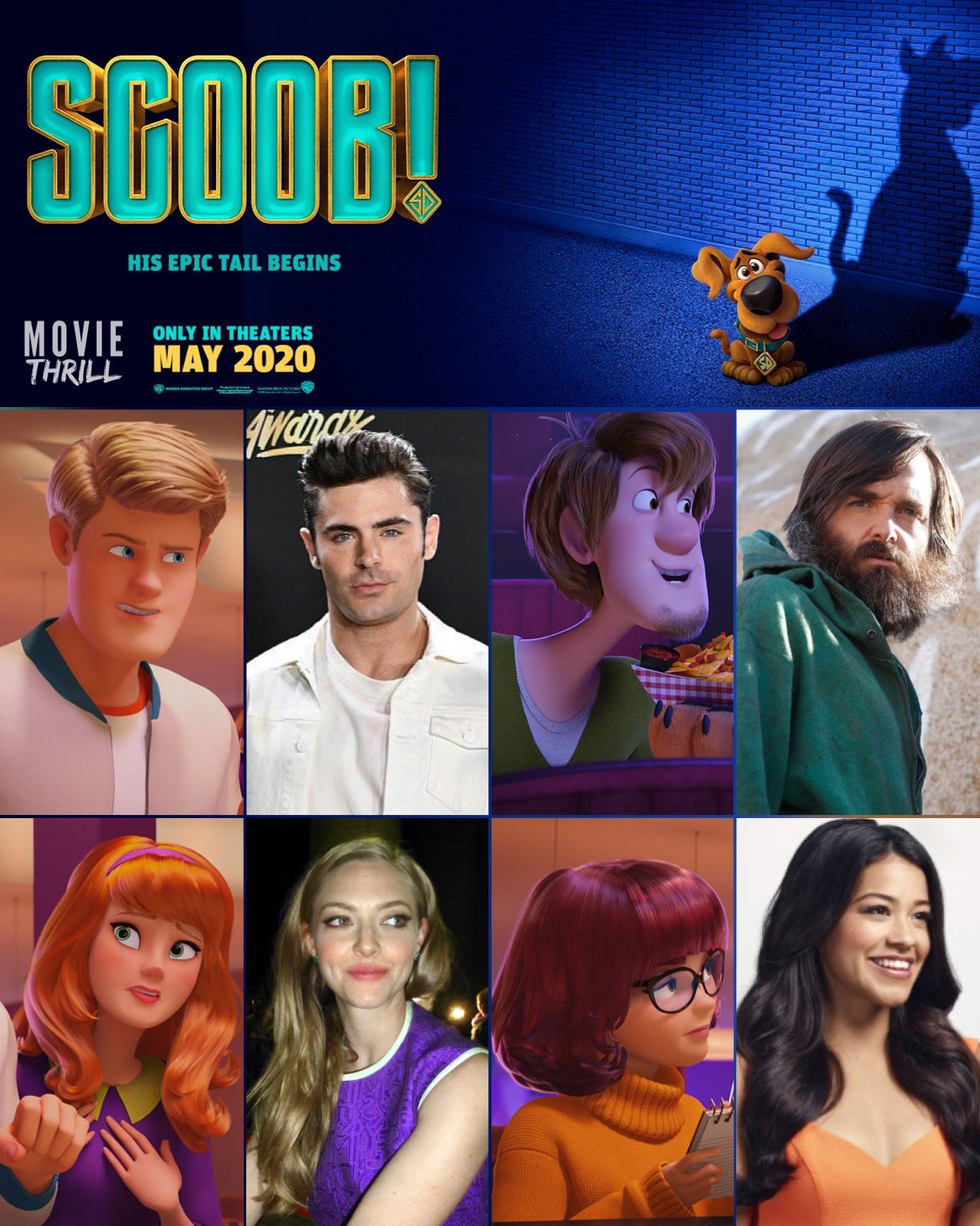 use me - The Reboot of Scooby-Doo in 3D is Coming! - Images, Trailer and Debut Details Revealed