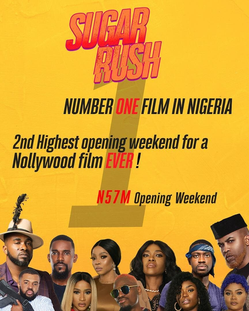 80103000 556097495318607 2785108632804049369 n - Sugar Rush Movie Dominates End Of The Year Box Office with N58 Million Opener