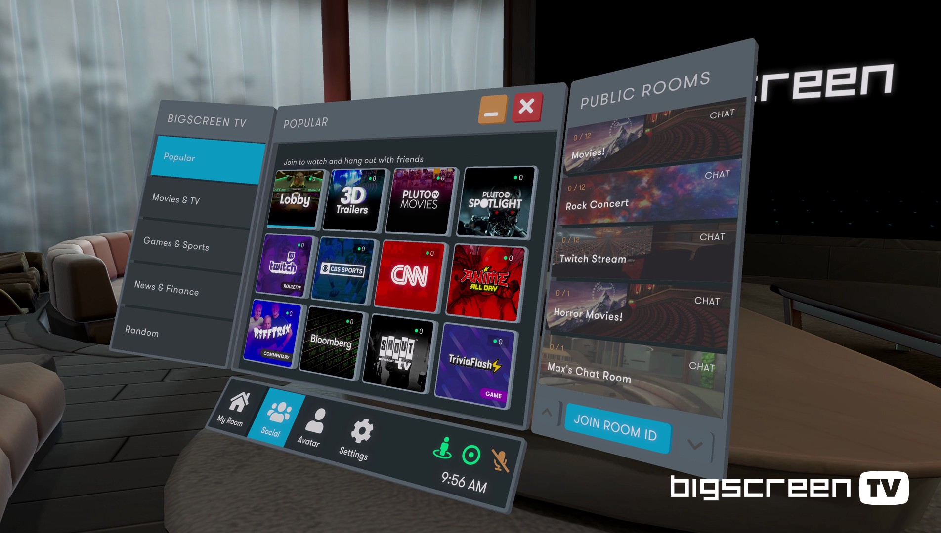 bbd - Experience The Cinema and More in Virtual Reality - Anywhere, Anytime