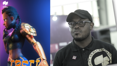 "use 1 390x220 - ""Folks at DC and Marvel don't have 32 heads'' - Micheal Balogun on Building Comics in Nigeria"