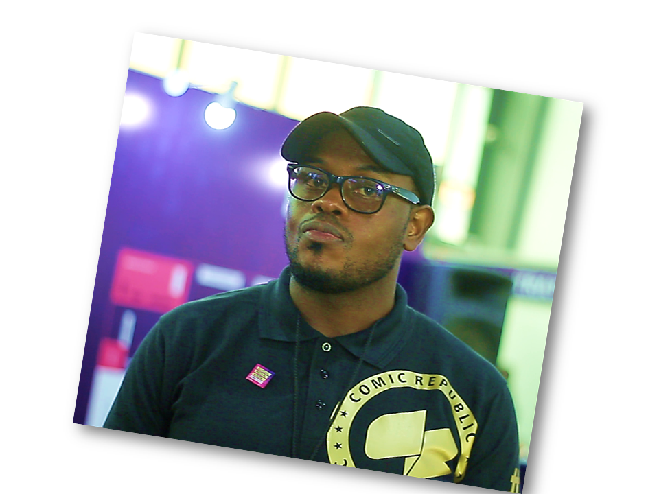 """use 2 - """"Folks at DC and Marvel don't have 32 heads'' - Micheal Balogun on Building Comics in Nigeria"""