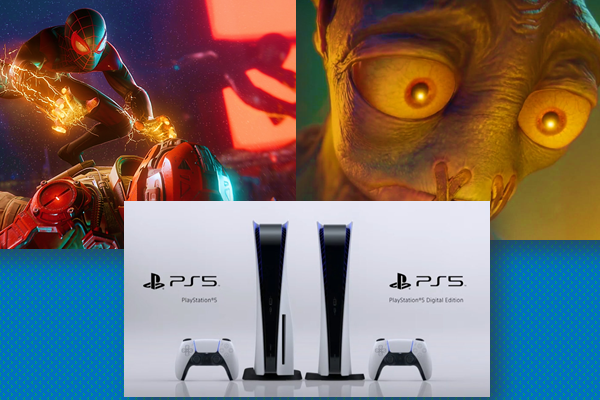 ps5 reveal - PS5 Console Design+New Game Trailers Revealed
