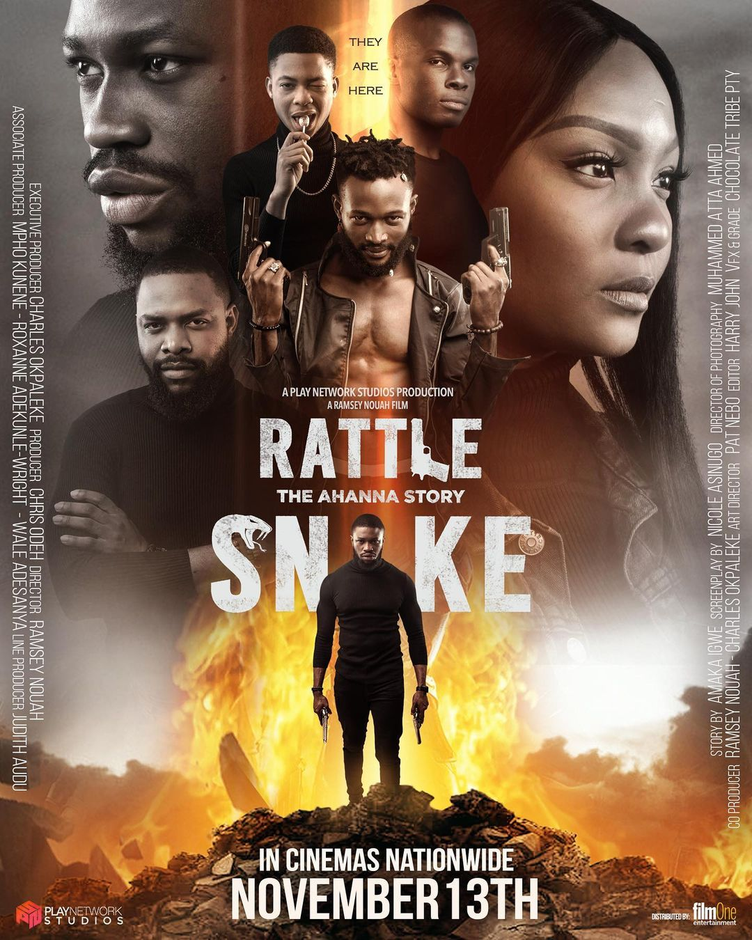 124037229 1543228275861646 4819321997327807058 n - Rattlesnake: Projections for a N19.5 Million Opening Weekend