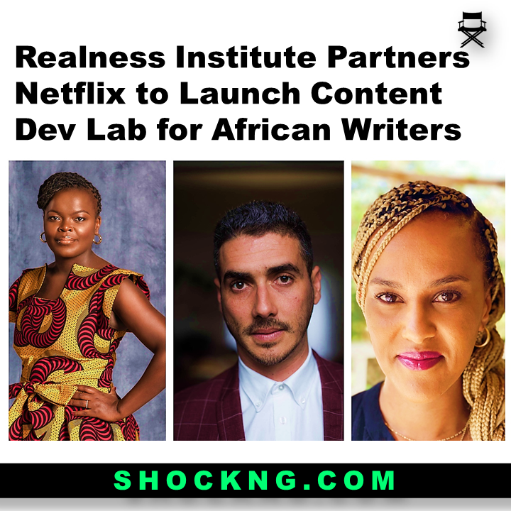 Realness Institute Partners Netflix to Launch Content Dev Lab for African Writers - Realness Institute Partners Netflix to Launch Content Dev Lab for African Writers