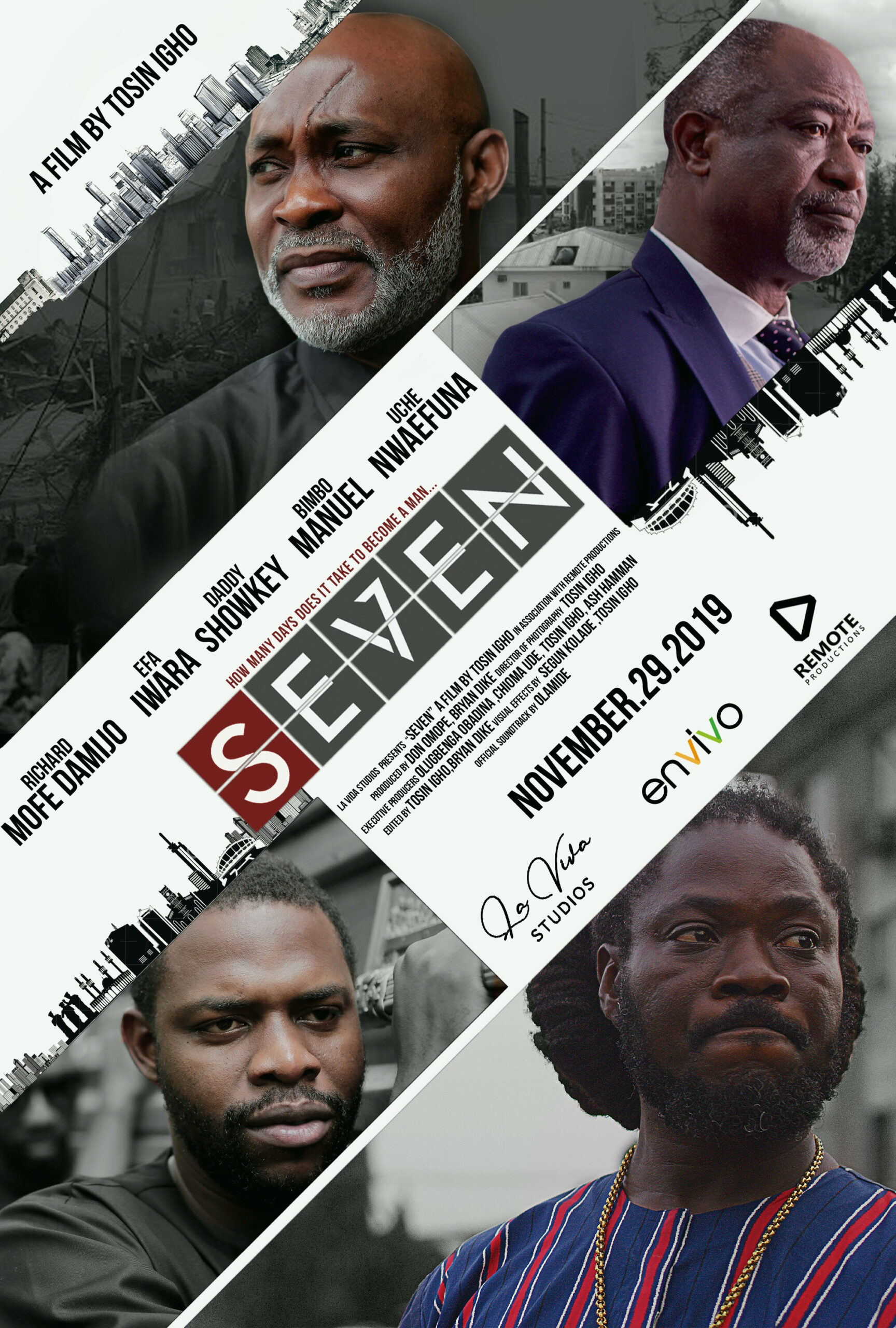 seven movie directed by tosin igho scaled - Nneka The Pretty Serpent is Executing a Hush Box Office Campaign, Will It Work?