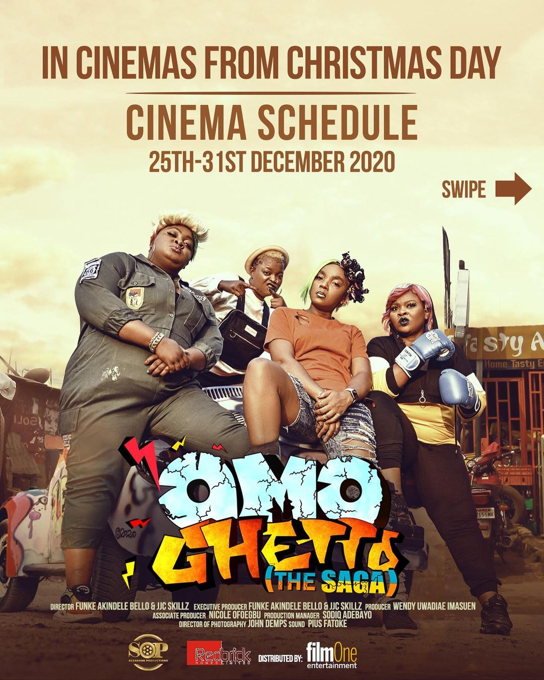"""132626120 141850457540587 8004616402686672544 n - Omo Ghetto """"The Saga"""" Bursts N124 Million Opening Weekend, Breaks All Time  Nollywood Box Office Record Despite Pandemic Uncertainty"""
