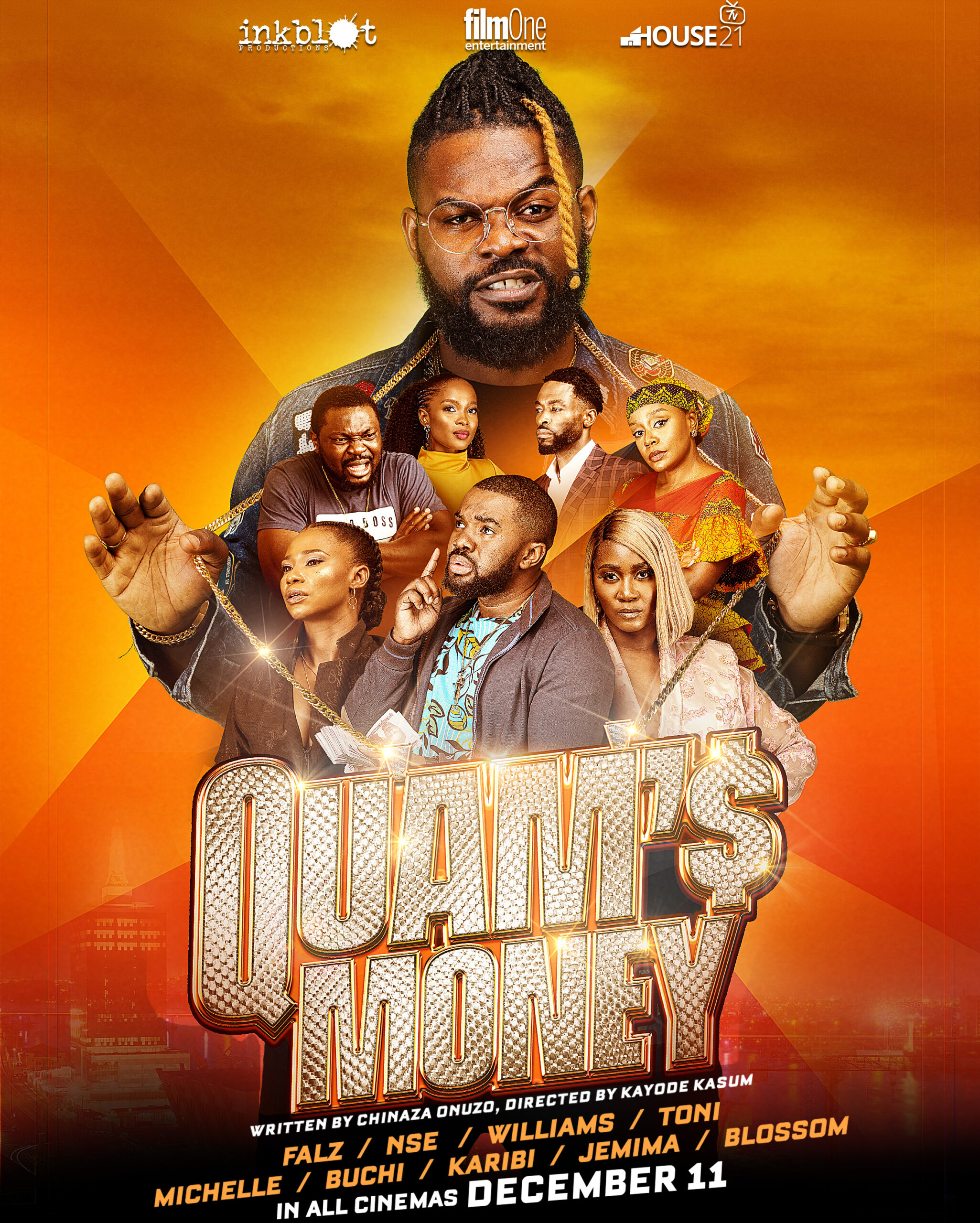 """QM Static Poster scaled - Everything About """"Falz The Bahd Guy"""" Debut Lead Feature - Quam's Money"""