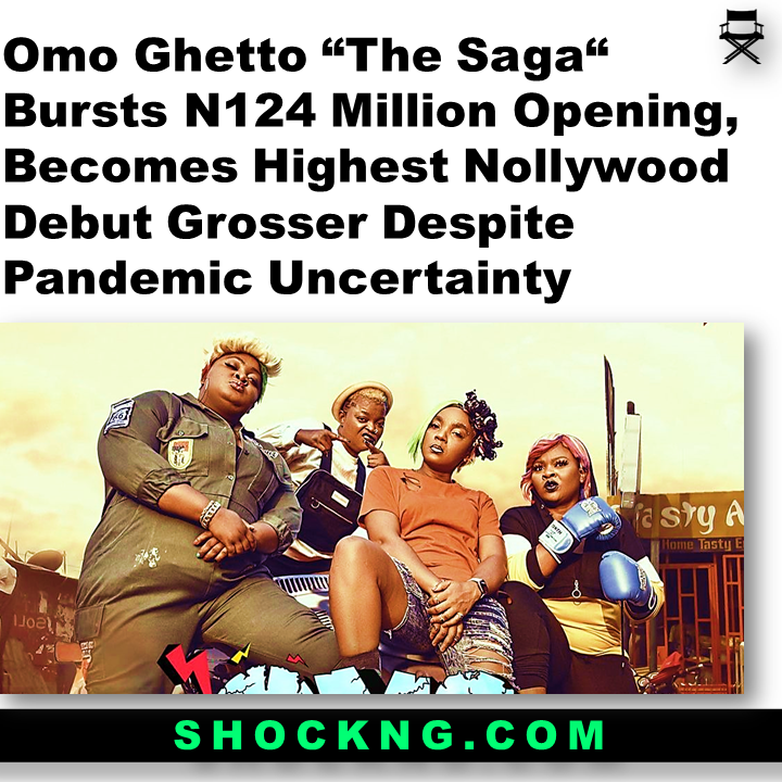 omo ghetto box office 2 - What Happened in 2020 NGN Box Office ??