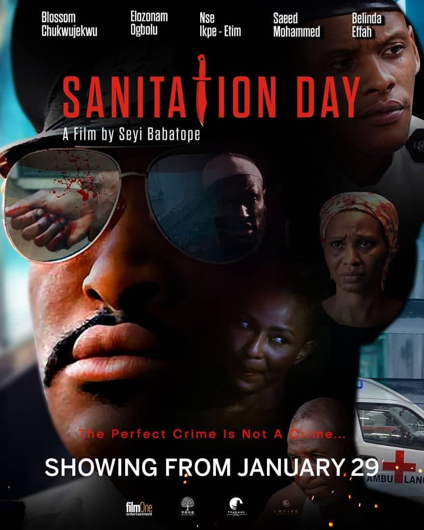 """135114986 1305795973126340 6852453806856026146 n - Babatope Seyi on Making a Nigerian Crime Thriller """"Sanitation Day"""""""