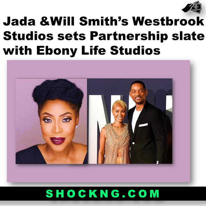 Jada Will Smiths Westbrook Studios sets Partnership slate with Ebony Life Studios  - Jada &Will Smith'sWestbrook Studios sets Partnership slate with Ebony Life Studios