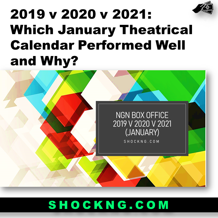 NOLLYWOOD JANAURY THEATRICAL CALENDER - Which January Theatrical Calendar (2019 v 2020 v 2021) Performed Well and Why?