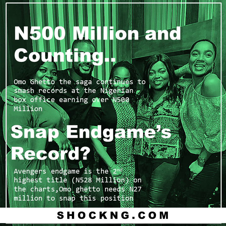nollywood stars breaks record - From 0 – N500 Million: The Blockbuster Trajectory of Omo Ghetto The Saga, Nollywood's Record Smasher