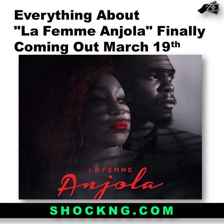 "Rita Domic and Nonso bassey in La Femme Anjola - Everything About ""La Femme Anjola"" Finally Coming Out March 19th"