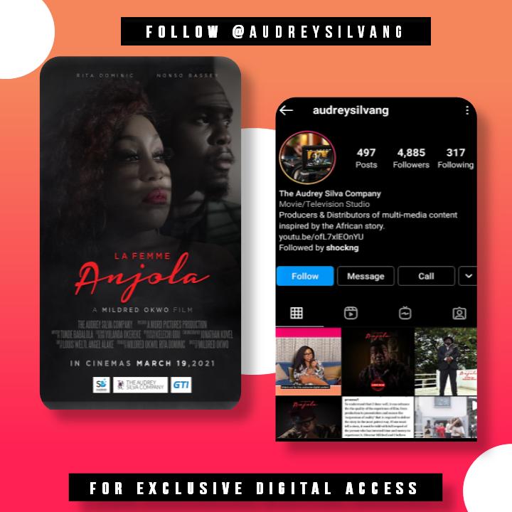 "ig audrey silva ng movies - ""La Femme Anjola"" Digital Exclusive March 13th – 19th"