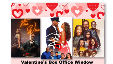 "still fallingfine wine2 weeks in lagos nollywood movies 390x220 - Why Did ""Still Falling"" Win Valentine's Box Office Window?"