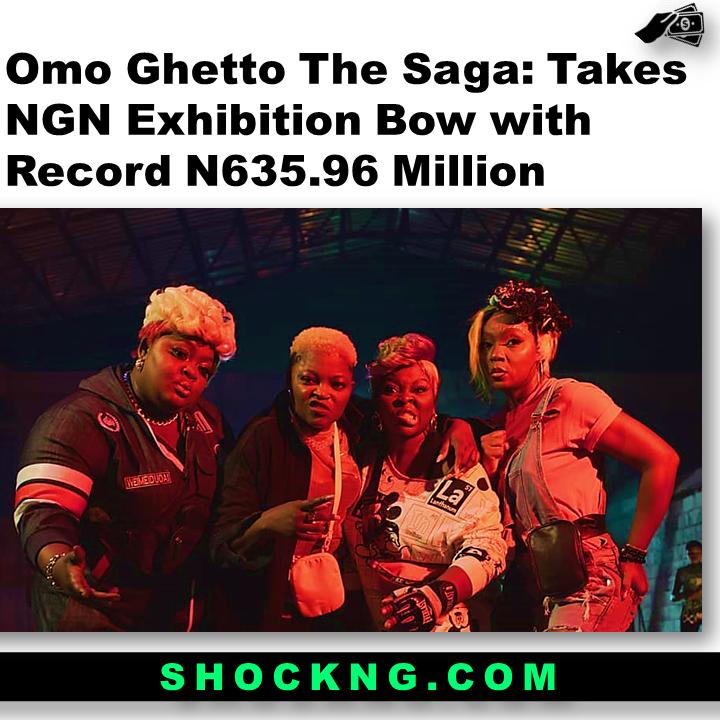 how much did omo ghetto the saga make  - Omo Ghetto The Saga: Takes NGN Exhibition Bow with Record N635.96 Million
