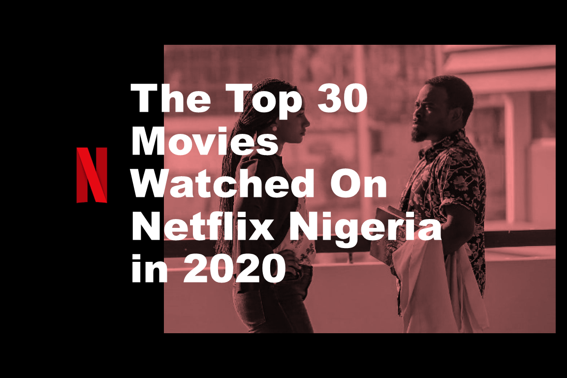 The 30 Watched Movies on Netflix Nigeria - The Top 30 Movies Watched On Netflix Nigeria in 2020