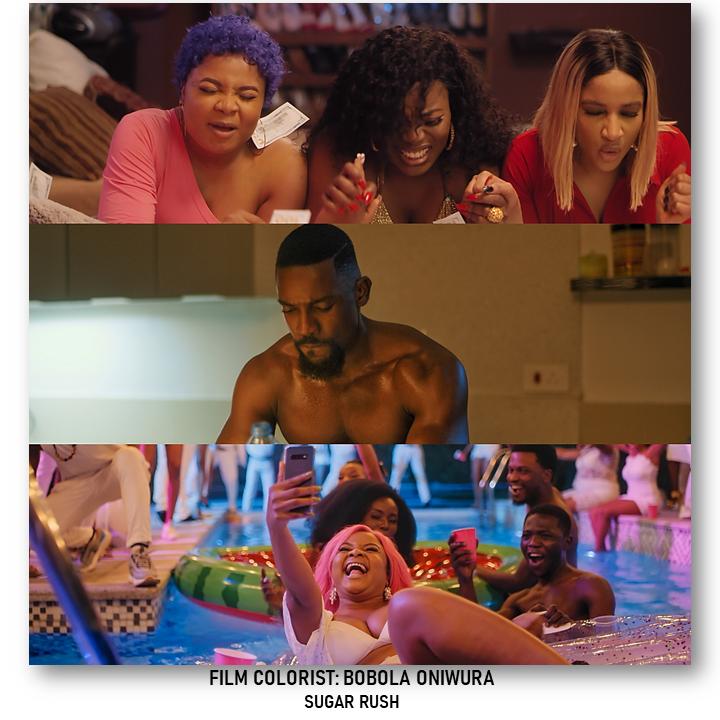 sugar rush frame grabs  - The Journey of Bobola Oniwura, an Architect Grad Turned Film Colorist